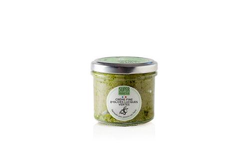 SuperProducteur Crème fine d'olives Lucques vertes