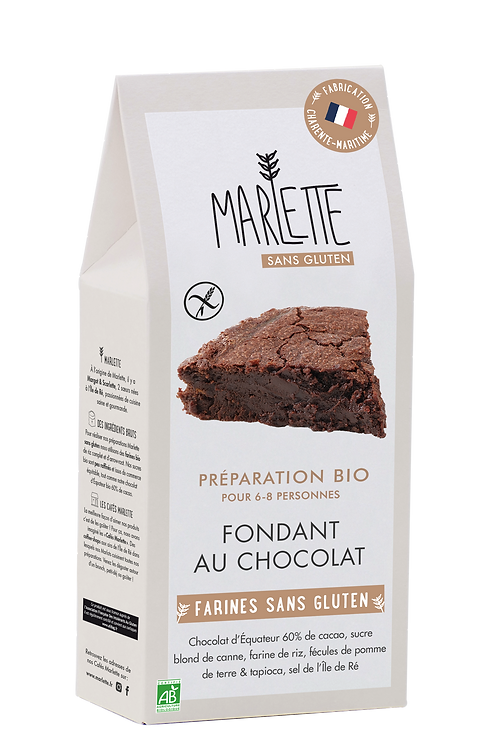 Marlette Préparation Bio Fondant au Chocolat