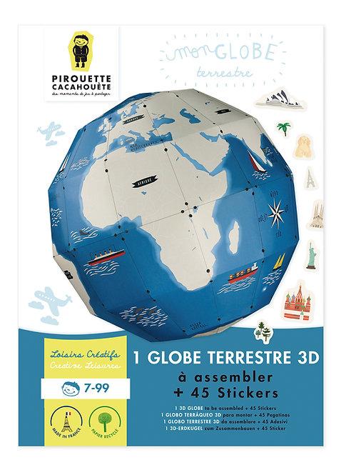 Kit créatif Mon globe terrestre 3D