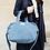 Thumbnail: Rive Droite City Bag Sauval en denim clair upcyclé