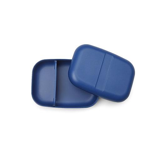 Bento box bleue en bambou