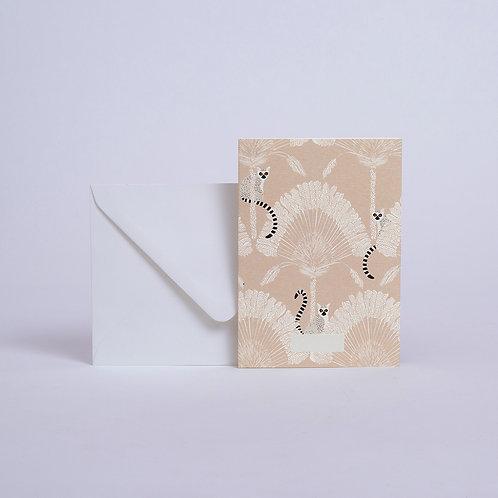 Carte Lémuriens Season Paper