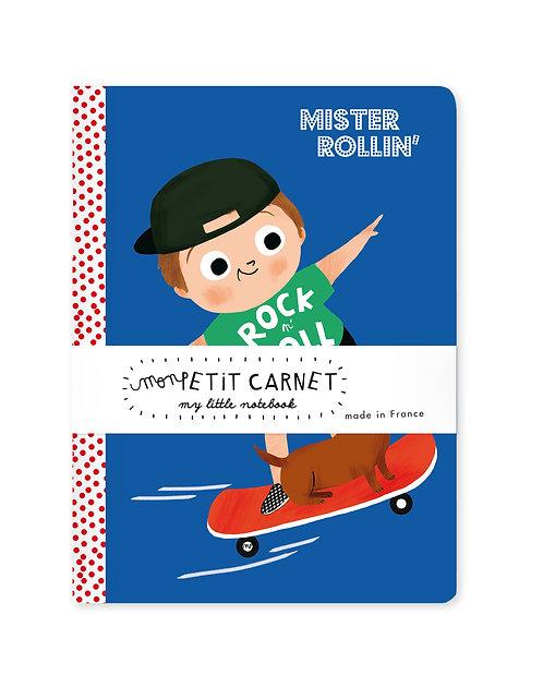 Petit carnet Mister Rollin'