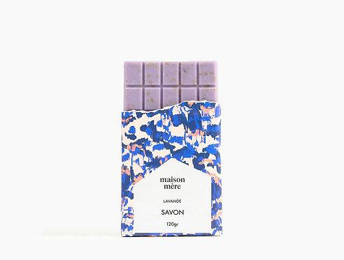 Tablette de savon naturel Lavande - Maison Mère