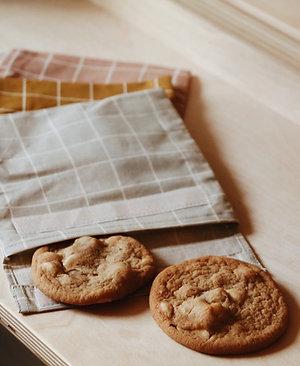 Sandwich bag en coton BIO écru - Haps Nordic