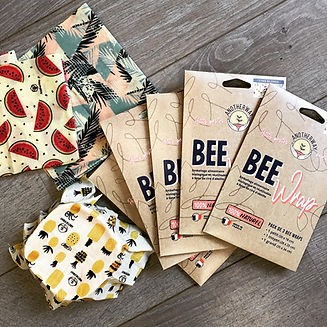 BEE Wrap emballages alimentaires écologiques