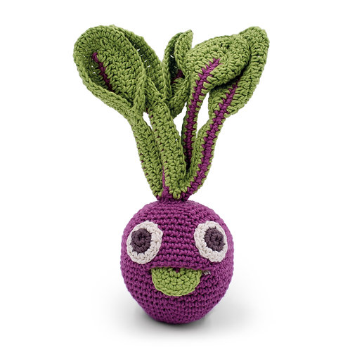 Betterave hochet en crochet Bio