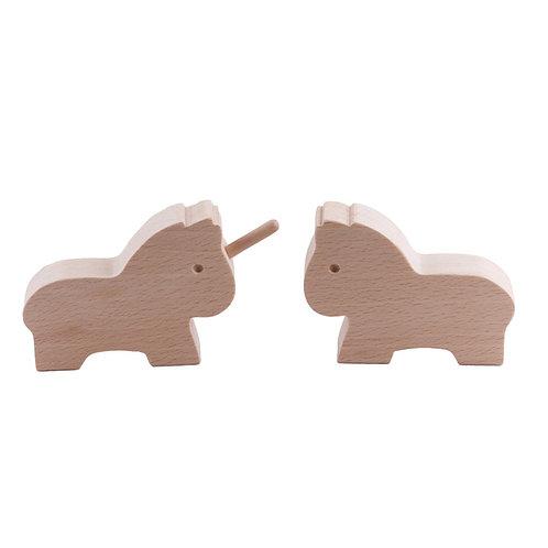 Paulette et Sacha Le cheval et la licorne