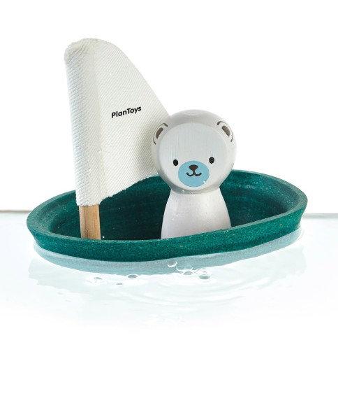 Petit bateau pour le bain Plan Toys