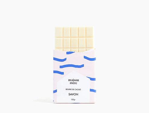 Tablette de savon naturel Beurre de cacao - Maison Mère