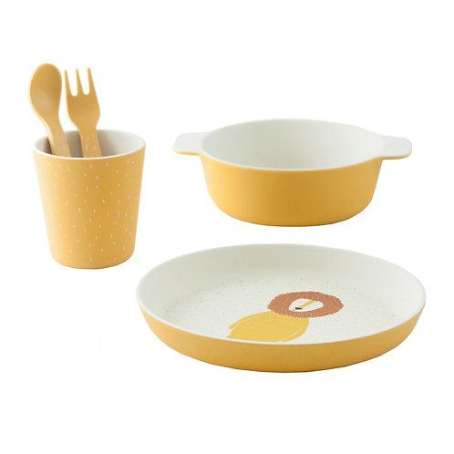 Set Vaisselle en bambou M. Lion - Trixie