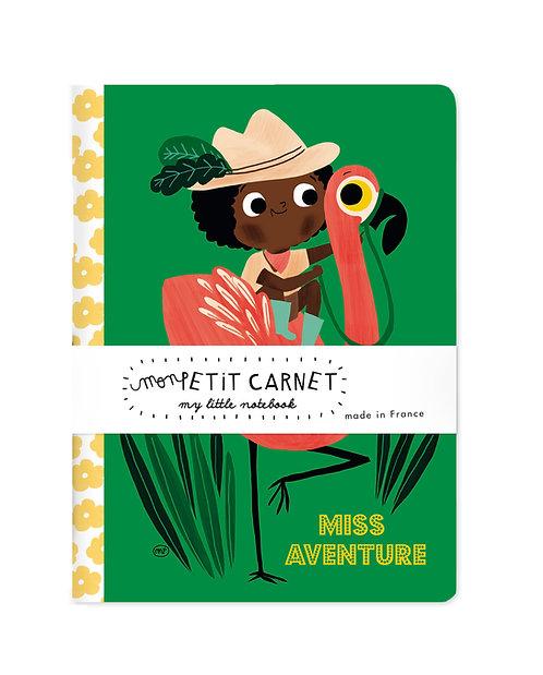 Petit carnet Miss Aventure