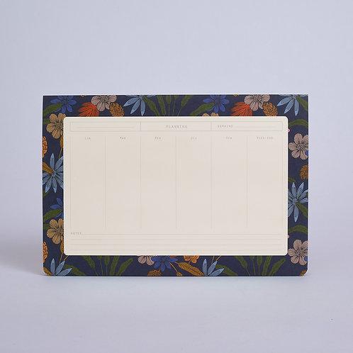 Semainier Luxuriance Season Paper