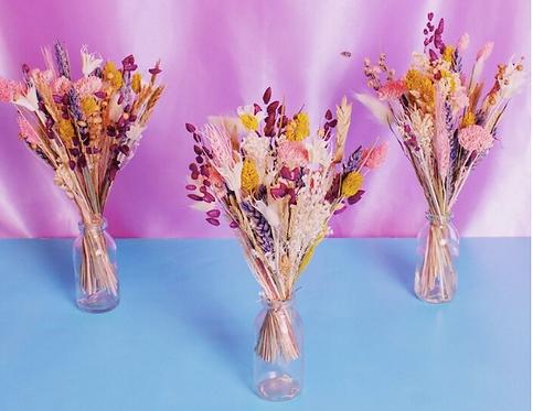 Mini bouquet fleurs séchées Pampa