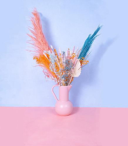 Bouquet de fleurs séchées - Magma Blue