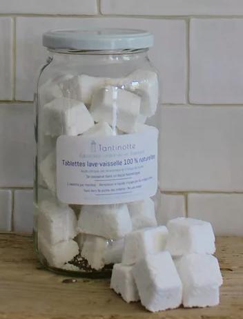 Tablettes lave-vaisselle 100% naturel