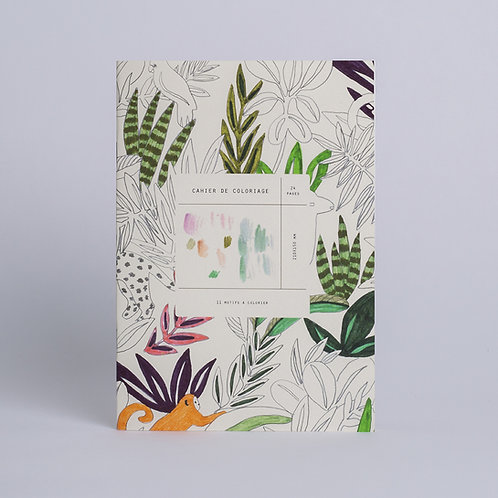 Carnet de coloriages Season Paper
