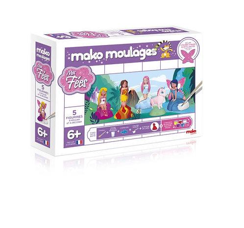 Mako Moulages Fées et Licorne