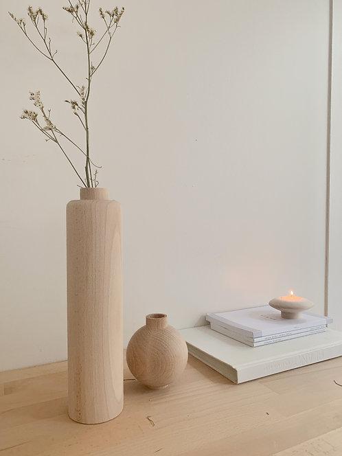 Grand Vase en bois an°so
