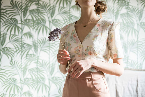 Blouse en coton Bio GOTS Muse and Marlowe