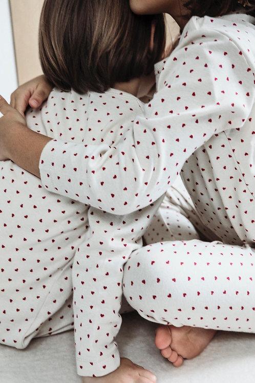 Pyjama en coton Bio Poudre Organic