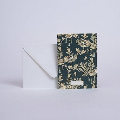 Carte Jungle Emeraude Season Paper