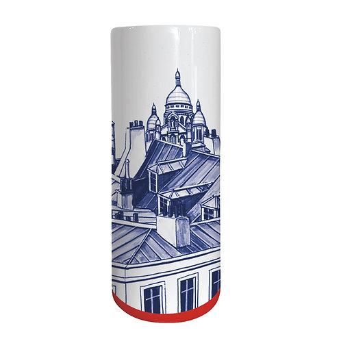 Faïencerie Georges Grand vase Paris