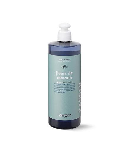 Liquide vaisselle Fleurs de romarin Kerzon 500ml