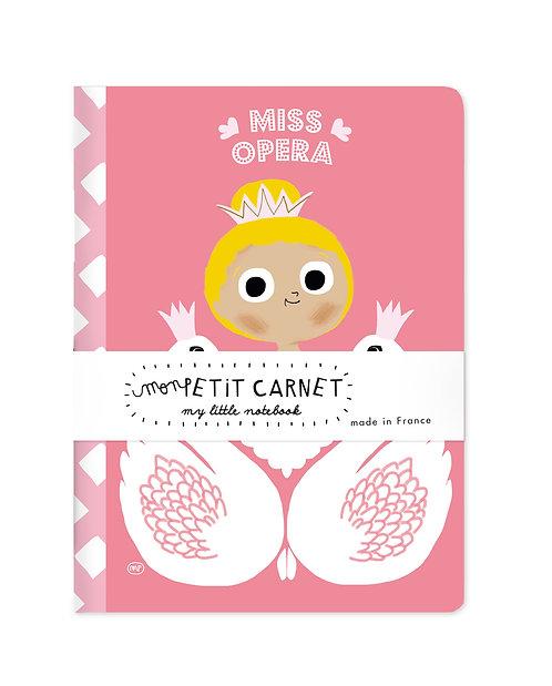 Petit carnet Miss Opéra