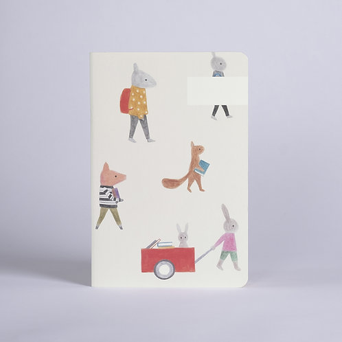 Carnet Les animaux Season Paper