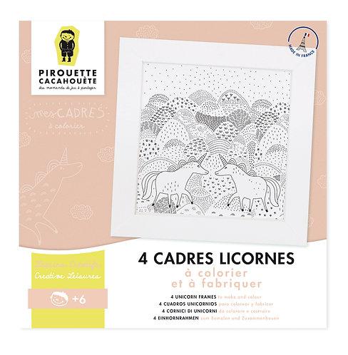 Kit créatif Mes Cadres Licornes
