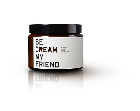Crème hydratante naturelle 500ml - Be (...) my Friend