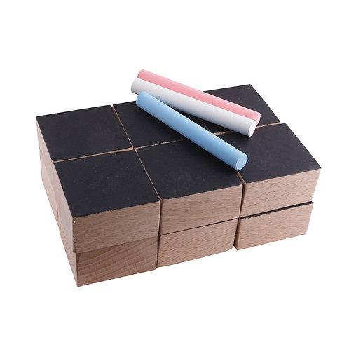 Cubes ardoise Paulette et Sacha