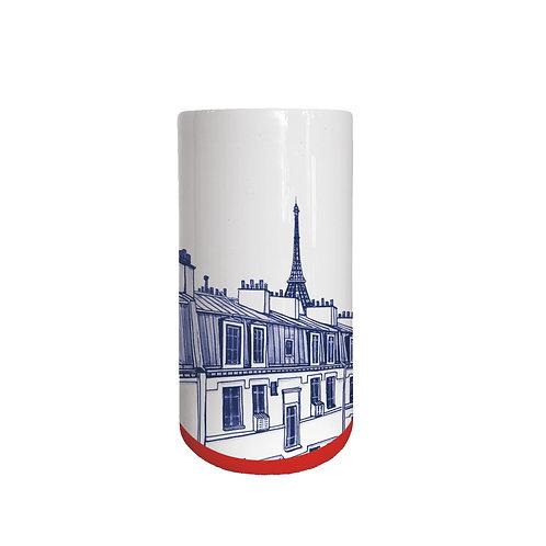 Faïencerie Georges Petit vase Paris
