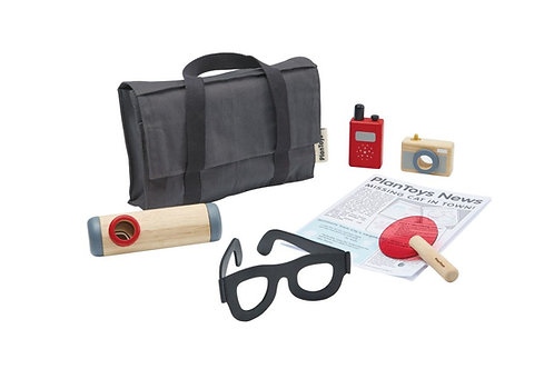 Ma valise de détective Plan Toys