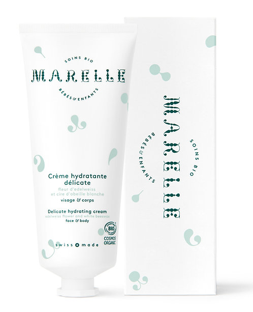 Crème hydratante délicate 100ml  - Marelle Bio