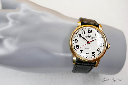 Ball Trainmaster 1960's Gents Watch