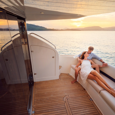 Romantic vacation and luxury travel. You