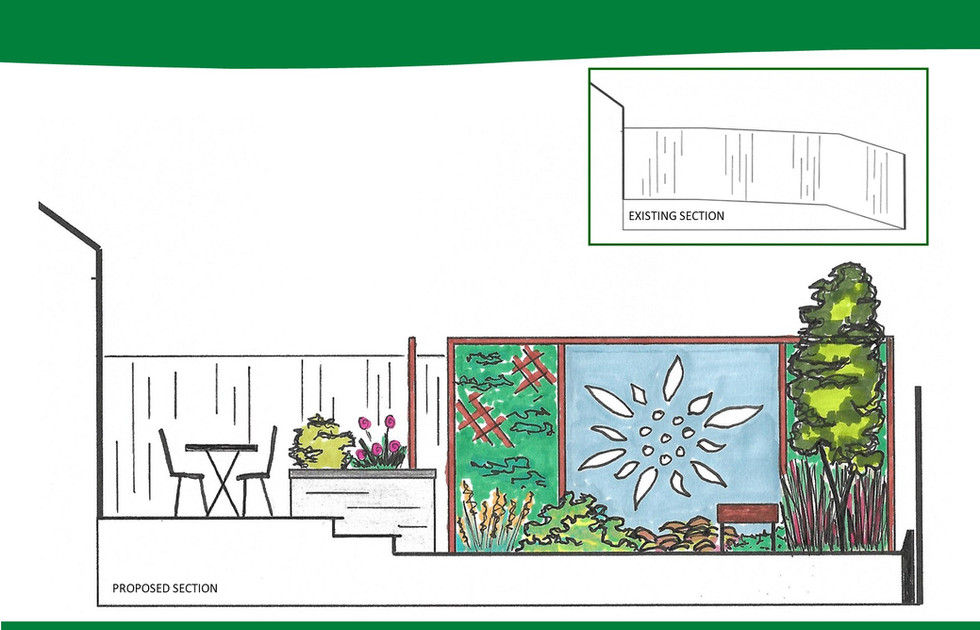 Garden Design Moira Visual