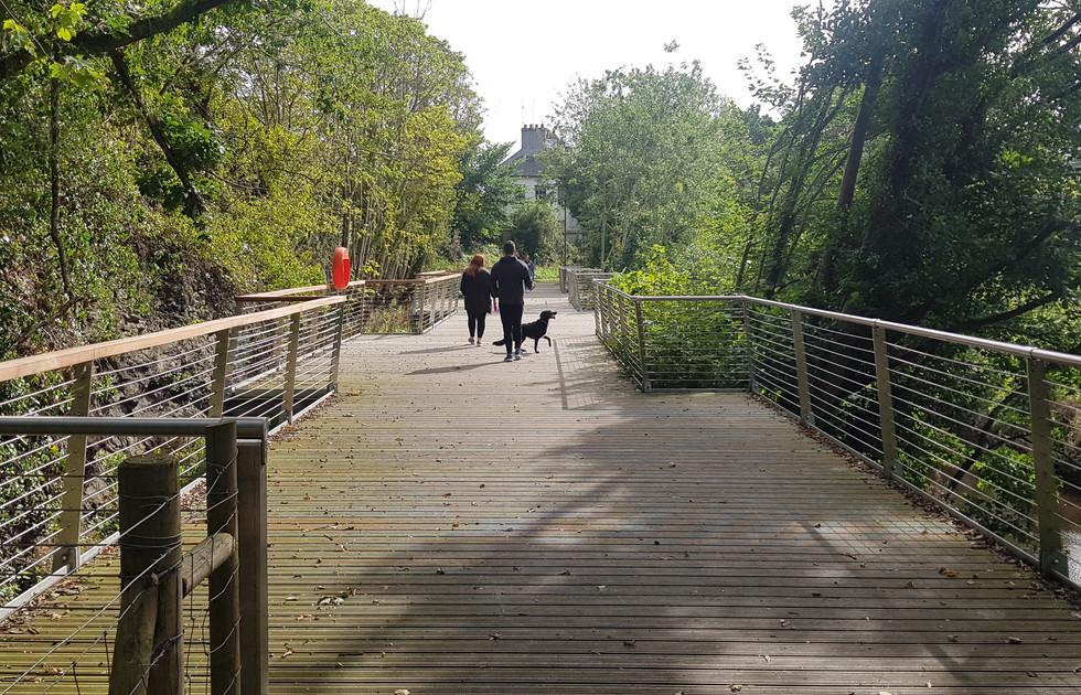Gilford Riverside Walk Platform