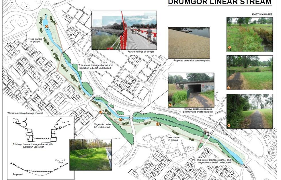 Drumgor Linear Stream Concept