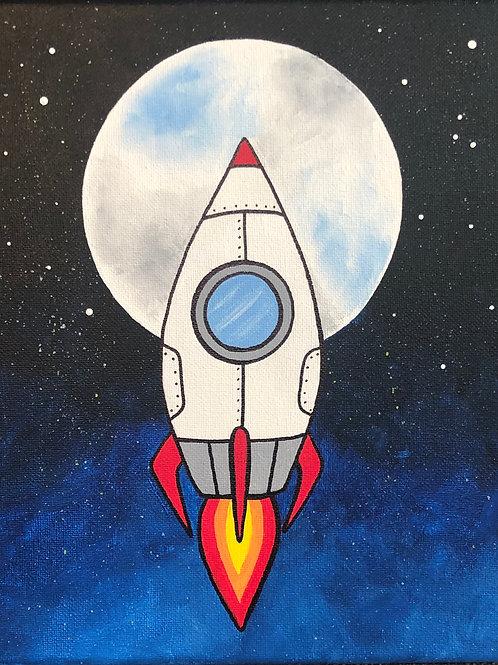 Art to Go Rocket Ship