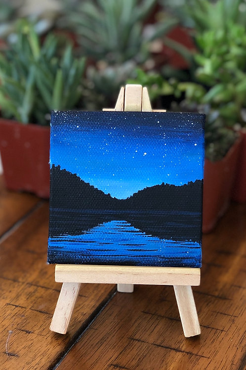 Art to Go Mini Night Scene