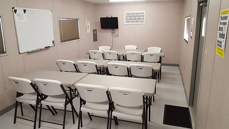 safety training classroom
