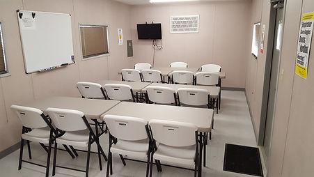 safety training classroom