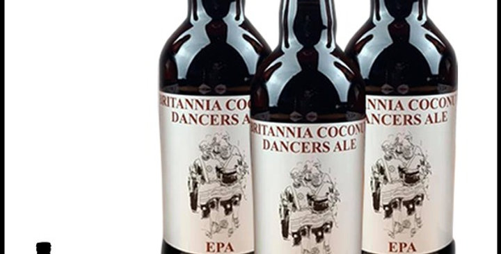 4 x 500ml Bottle - Britannia Coconut Dancers Ale