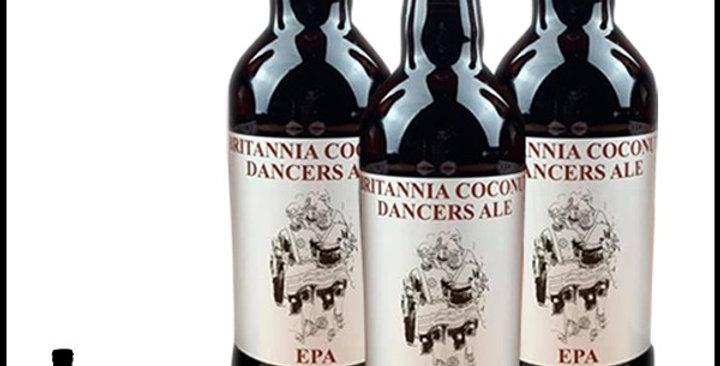 6 x 500ml Bottle - Britannia Coconut Dancers Ale