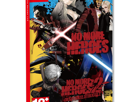 《No More Heroes 1+2》中文版今天上市!舉辦慶祝上市活動