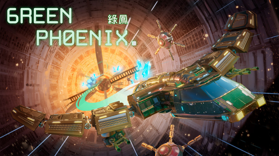 3D 太空射擊遊戲《Green Phoenix 綠鳳》10月28日登陸亞洲Nintendo Switch™️