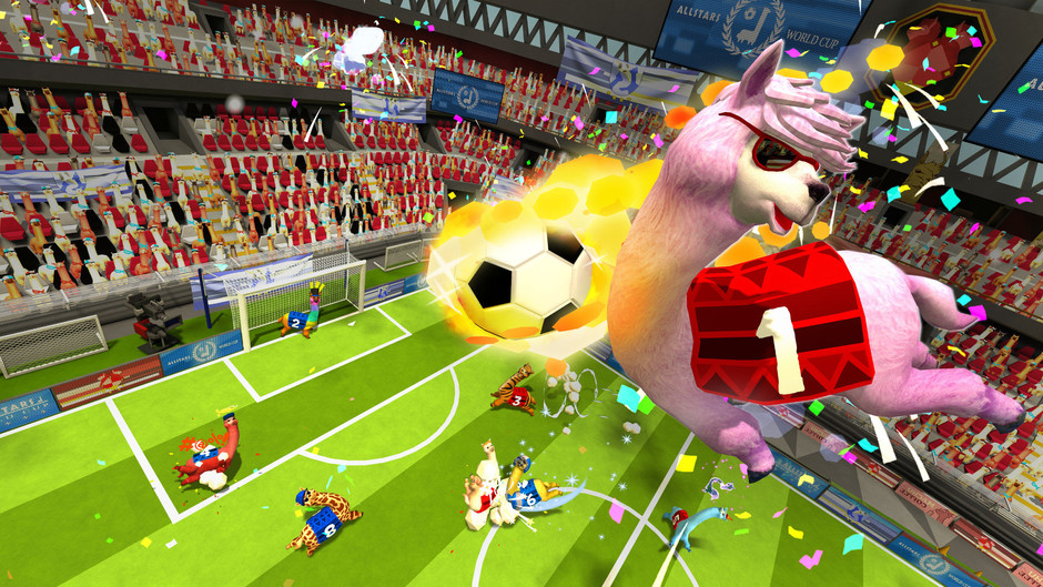 《草泥馬足球 全明星》將在2022年登陸PlayStation®5和PlayStation®4